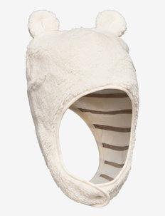 Cap w Ears Baby - hats - egret
