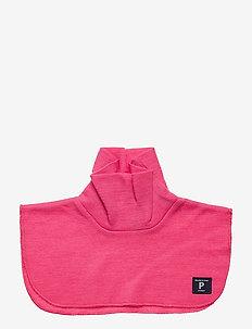 Neckwarmer Wool Solid Baby - wol - fandango pink