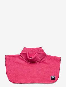 Neckwarmer Wool Solid Preschool - wol - fandango pink