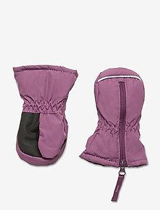 Mitten Solid Preschool - winterkleding - berry conserve