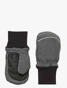 Mitten Solid PreSchool - winter clothing - gunmetal