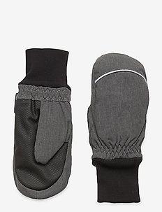 Mitten Solid School - winter clothing - gunmetal