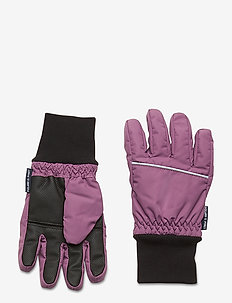 Glove Solid School - winterkleidung - berry conserve