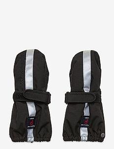 Mitten Solid Baby - winterkleding - black