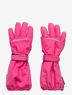 Glove Solid PreSchool - winterkleding - fandango pink