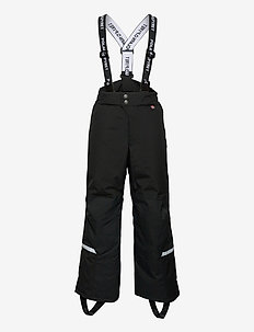 Trousers Padded Solid School - talvihousut - black