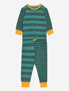 Pyjamas Striped Preschool - setit - fern