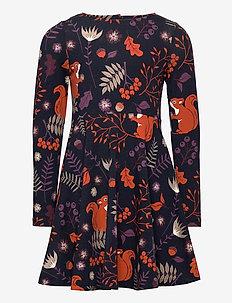 Dress AOP Pre- school - dresses - dark sapphire
