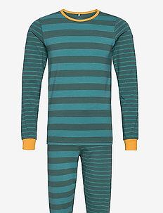 Pyjamas Set Striped Adult - pyjamas - fern