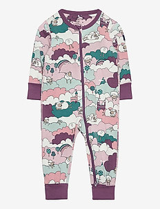 Pyjamas Overall AOP Baby - one-sie - berry conserve