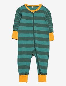 Pyjamas Overall Striped Baby - one-sie - fern