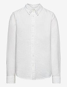 Shirt Solid Oxford School - skjortor - bright white