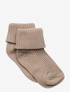 Socks Solid Baby - skarpetki - simply taupe