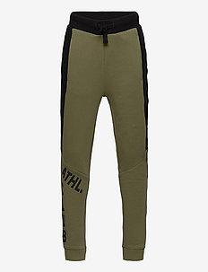 Trousers Jersey School - bukser - olivine