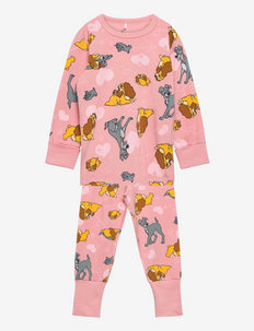 Pyjamas AOP Preschool - sets - bridal rose