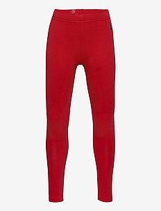 Leggings Solid School - leggings - chili pepper