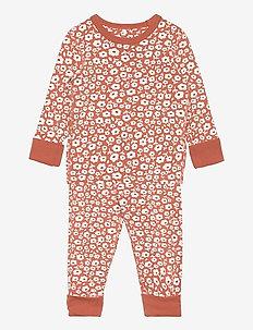 Pyjamas AOP Preschool - sets - apricot brandy