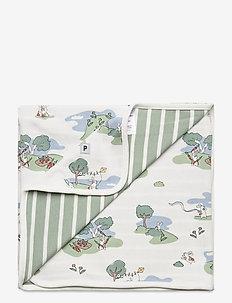 Blanket AOP Baby - cuddle blankets - egret