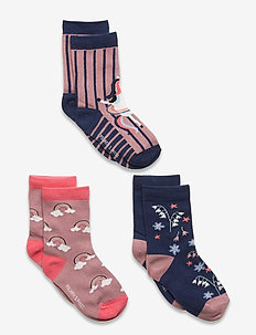 Socks 3-P Preschool - strümpfe - woodrose