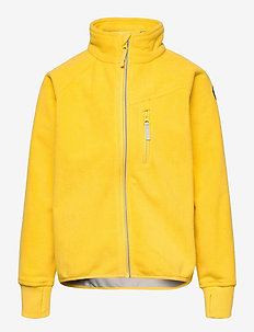 Jacket Windfleece Solid - fleecetøj - lemon drop
