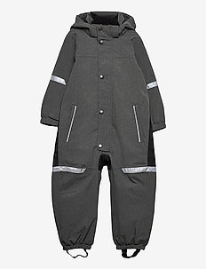 Overall Shell Lined Preschool - shell clothing - gunmetal