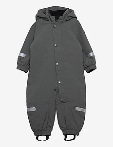 Overall Shell Lined Preschool - softshells - gunmetal