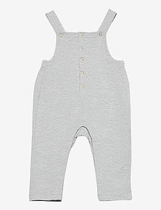 Jumpsuit Solid Baby - dungarees - greymelange