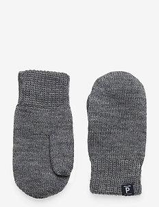 Mitten Wool - wol - greymelange