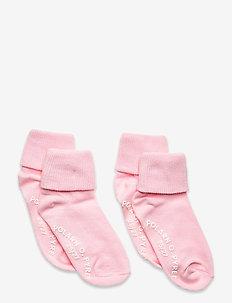Socks 2-Pack Solid Preschool - strømper - rose shadow