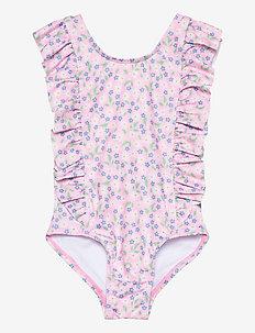 Swimsuit AOP - badedragter - rose shadow