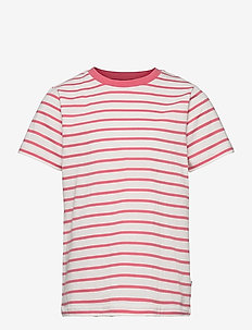 T-shirt S/S striped School - kurzärmelige - tea rose
