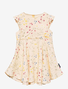 Dress Woven AOP Preschool - kleider - mother of pearl