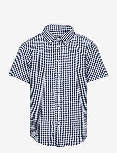 Shirt checked s/s School - chemises - ensign blue