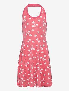 Dress Jersey AOP s/s School - kleider - tea rose
