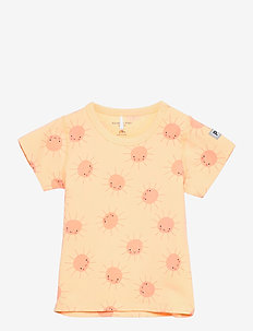 Top S/S AOP Baby - short-sleeved - impala