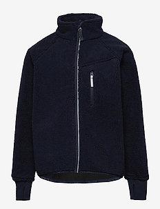 Jacket Windfleece Solid - fleecetøj - dark sapphire