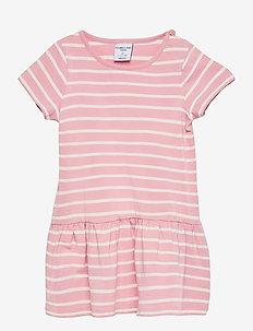 Dress jersey striped s/s Preschool - kleider - bridal rose