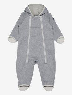 Overall Softshell Baby - softshells - greymelange