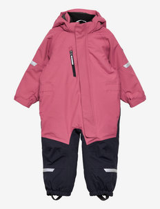Overall Padded Solid Preschool - snowsuit - rose wine
