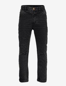 Trouser Woven School - jeans - black denim