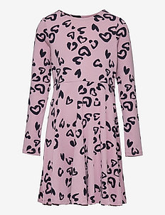 Dress AOP Jersey School - kleider - mauve shadows