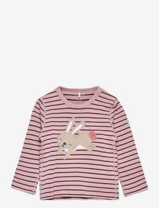 Top L/S PO.P Stripe Baby - t-shirts - mauve shadows