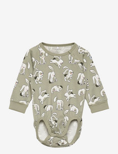 Body AOP Baby - long-sleeved - seagrass