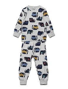 Pyjamas AOP Preschool - GREYMELANGE