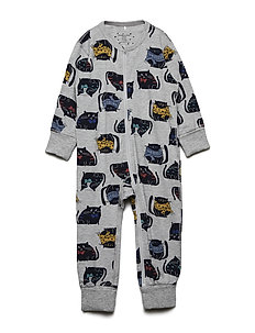 Pyjamas Overall AOP - GREYMELANGE