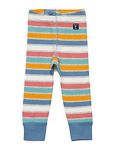 Long Johns Striped Baby - CORONET BLUE
