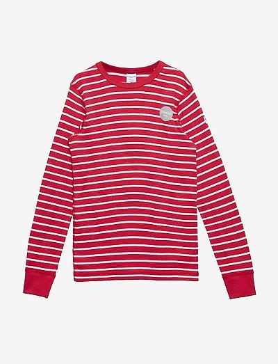 T-shirt l/s PO.P Stripe - langärmelige - ski patrol