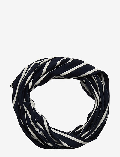 Neckwarmer stripe Preschool - accessories - dark sapphire