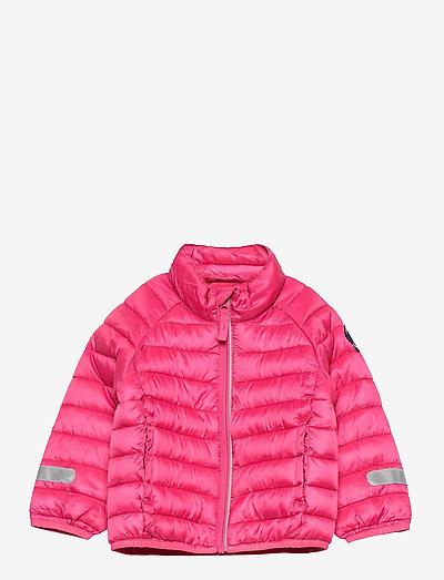 Jacket Padded Solid PreSchool - veste rembourrée - magenta