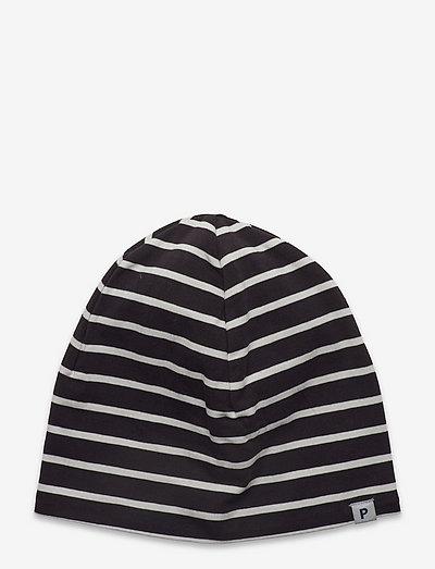 Cap PO.P Striped Preschool - beanie - black